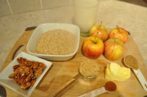 ingredients-for-crockpot-oatmeal