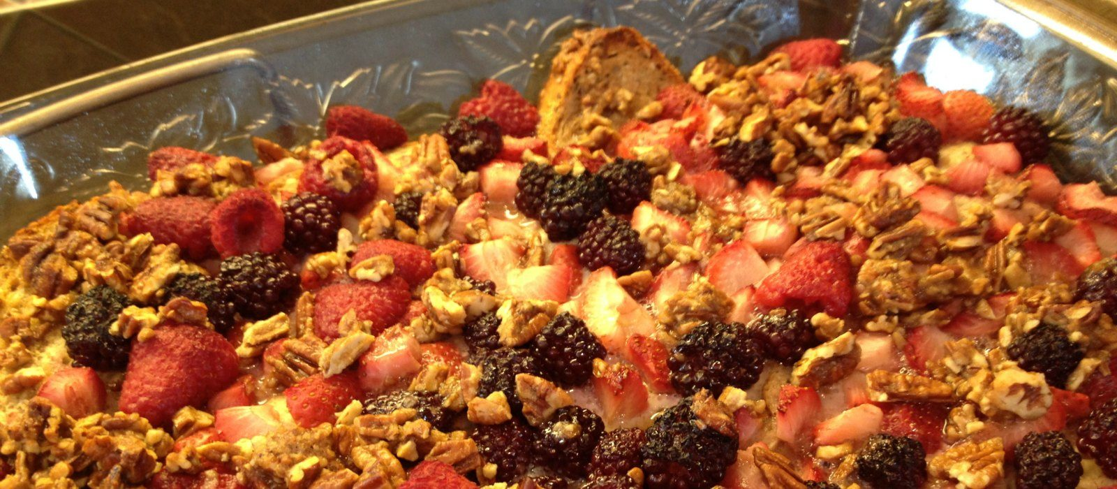 Nutty Berry French Toast