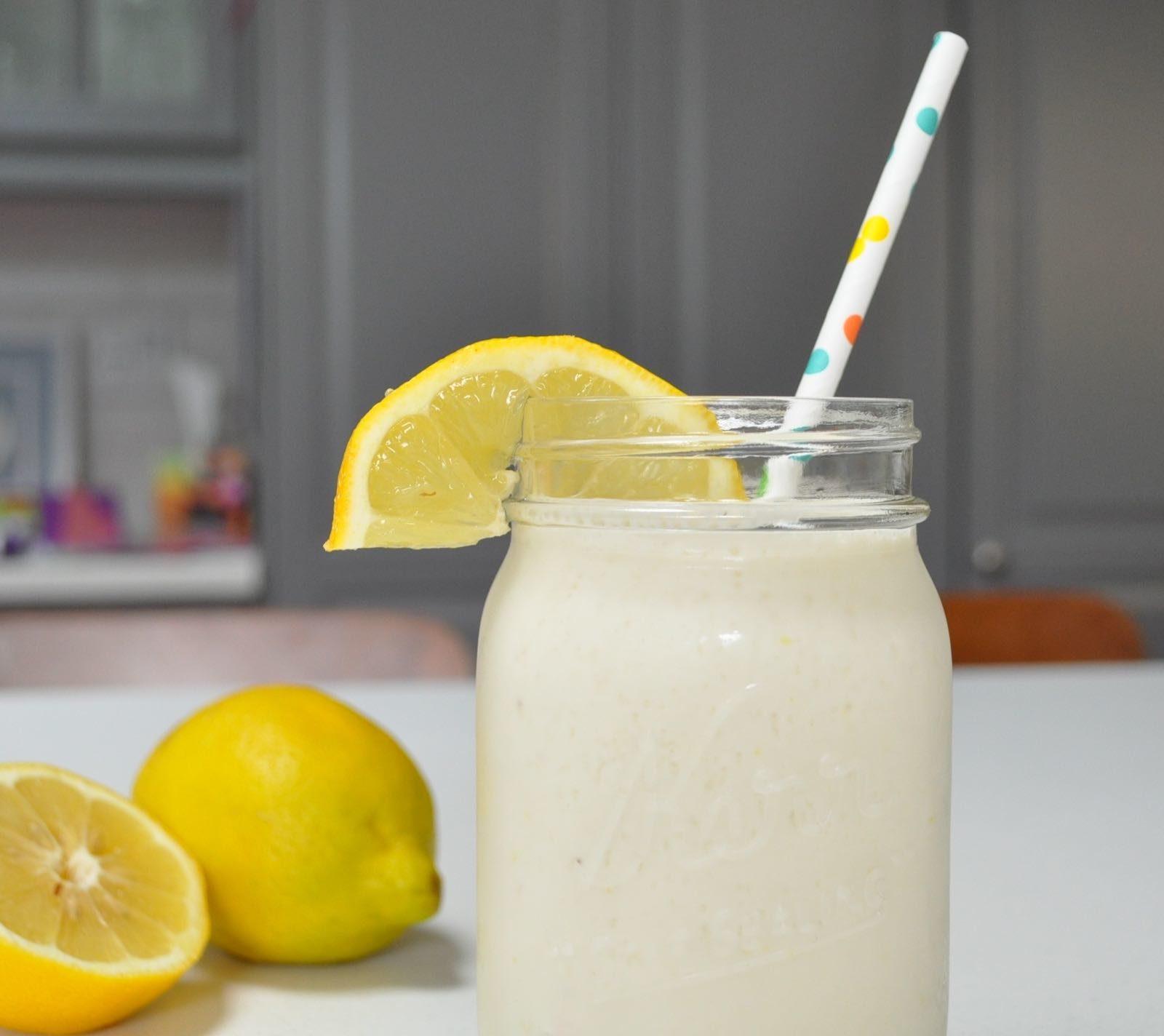 Creamy Frozen Lemonade