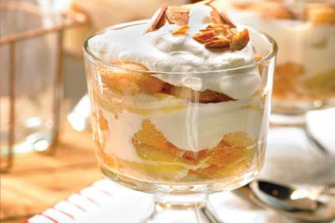 Caramelized Pear and Caramel Trifle