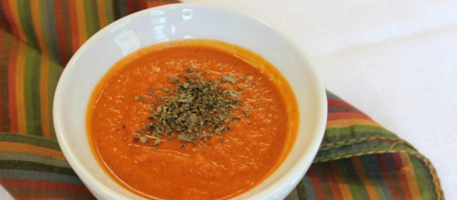 Slow Cooker Creamy Tomato Soup
