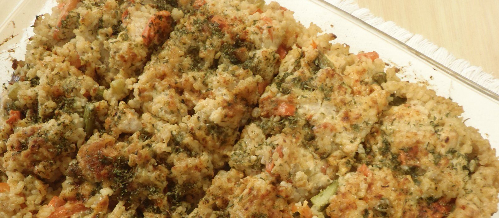 Hearty Brown Rice Casserole