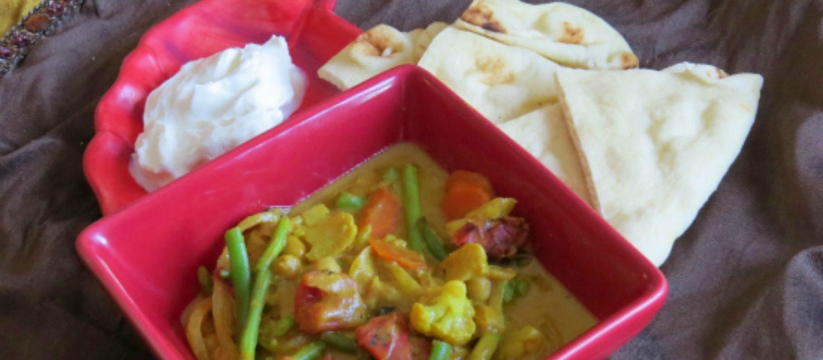 Vegetable Chana Masala