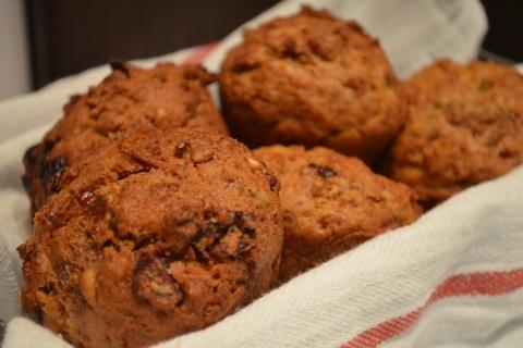 Prairie Flax Muffins