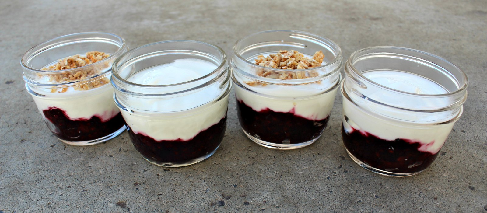 DIY Fruit on the Bottom Yogurt