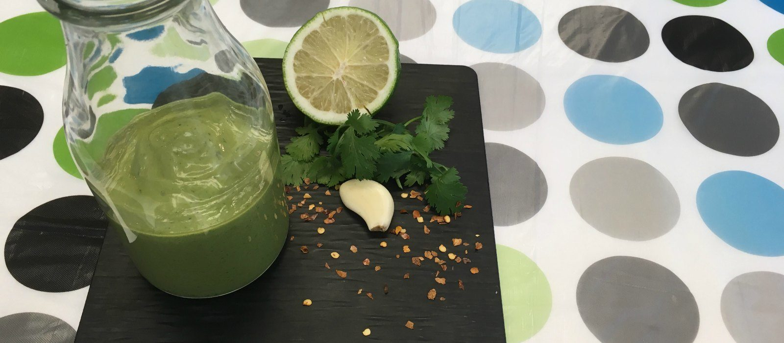 Avocado Greek Yogurt Dressing