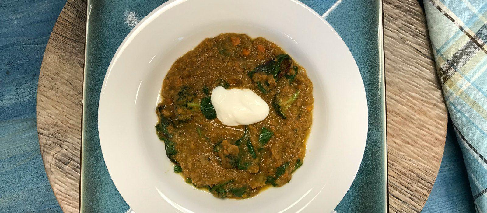 Lentil Soup with a Twist